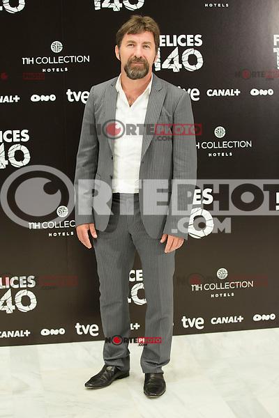 """Antonio de la Torre attend the Presentation of """"Happy 140"""" (Felices 140) Movie at Eurobuilding Hotel, Madrid,  Spain. April 07, 2015.(ALTERPHOTOS/)Carlos Dafonte) /NORTEphoto.com"""