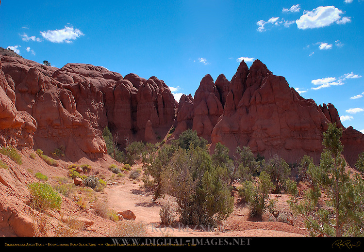 Shakespeare Arch Trail, Kodachrome Basin State Park, Grand Staircase Escalante, Utah