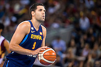 Spain's basketball player Felipe Reyes during the  match of the preparation for the Rio Olympic Game at Madrid Arena. July 23, 2016. (ALTERPHOTOS/BorjaB.Hojas) /NORTEPHOTO.COM