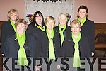 CONCERT: Some of the mebers of the Kerry Choral union choir who after their concert in St John's Ashe Street Tralee on Sunday night heading off to the Grand Hotel for refreshment; Front l-r: Kathleen Sheehan, Iris Barry and Joan Doody. Back l-r: Julie Twomey, Carlene Bunn, Aileen Kennelly and Oonagh O' Gara..