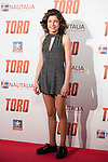 "Claudia Canal attends to the premiere of the spanish film ""Toro"" at Kinepolis Cinemas in Madrid. April 20, 2016. (ALTERPHOTOS/Borja B.Hojas)"