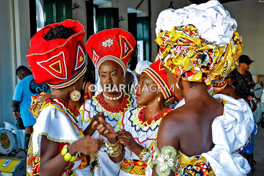 Saida do Bloco Afro Ilê Ayê, Salvador. Bahia. 2019. Foto Euler Paixão