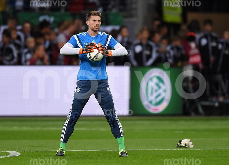 Fussball International EM 2016 Qualifikation  Gruppe D  in Frankfurt 04.09.2015 Deutschland - Polen Torwart Ron-Robert Zieler (Deutschland)