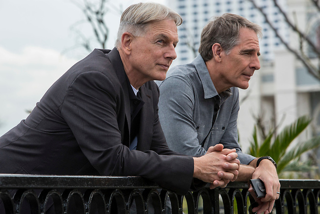 "Mark Harmon and Scott Bakula in the pilot of CBS's ""NCIS: New Orleans"""
