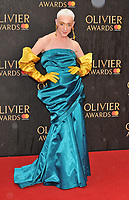 Jamie Campbell at the Olivier Awards 2018, Royal Albert Hall, Kensington Gore, London, England, UK, on Sunday 08 April 2018.<br /> CAP/CAN<br /> &copy;CAN/Capital Pictures<br /> CAP/CAN<br /> &copy;CAN/Capital Pictures