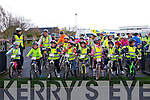 There off on the Fenit Coastal Cycle in aid of St. Brendan's NS on Saturday
