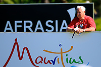 Dale Hayes TV pundit and Commentator in action during the first round of the Afrasia Bank Mauritius Open played at Heritage Golf Club, Domaine Bel Ombre, Mauritius. 30/11/2017.<br /> Picture: Golffile | Phil Inglis<br /> <br /> <br /> All photo usage must carry mandatory copyright credit (&copy; Golffile | Phil Inglis)