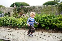 Neils. Lyte Cary with Alix, Sebastian, Neils, Annuska, Sarah (mum) and me. Somerset, England