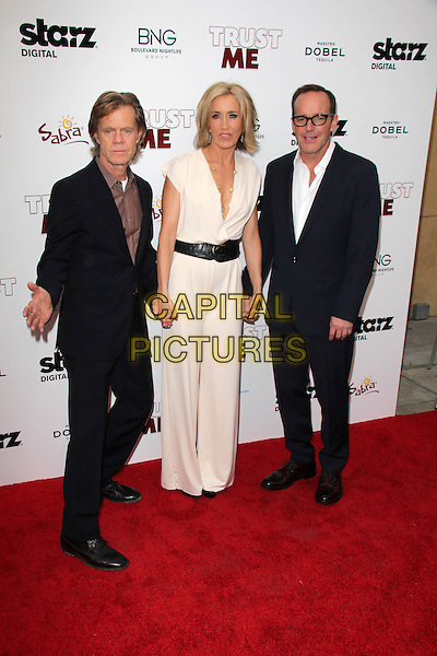 HOLLYWOOD, CA - May 22: William H. Macy, Felicty Huffman, Clark Gregg at the &quot;Trust Me&quot; Special Screening, Egyptian Theater, Hollywood,  May 22, 2014.  <br /> CAP/MPI/JO<br /> &copy;Janice Ogata/MediaPunch/Capital Pictures