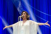 SÃO PAULO 19 JULHO 2013 - SHOW MARIA RITA - A cantora Maria Rita durante show da turnê Redescobrir na noite desta sexta feira (19) no Cradicard Hall, zona sul de São Paulo. FOTO: LEVI BIANCO - BRAZIL PHOTO PRESS