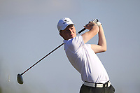 David McAleenon (Edenmore) on the 2nd tee during Round 2 of the East of Ireland Amateur Open Championship 2018 at Co. Louth Golf Club, Baltray, Co. Louth on Sunday 3rd June 2018.<br /> Picture:  Thos Caffrey / Golffile<br /> <br /> All photo usage must carry mandatory copyright credit (&copy; Golffile | Thos Caffrey)