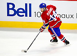 7 December 2009: Montreal Canadiens' center Tomas Plekanec in action against the Philadelphia Flyers at the Bell Centre in Montreal, Quebec, Canada. The Canadiens rallied, and defeated the Flyers 3-1. Mandatory Credit: Ed Wolfstein Photo