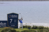 Thongchai Jaidee (THA) tees off the 7th tee during Thursday's Round 1 of the Dubai Duty Free Irish Open 2019, held at Lahinch Golf Club, Lahinch, Ireland. 4th July 2019.<br /> Picture: Eoin Clarke | Golffile<br /> <br /> <br /> All photos usage must carry mandatory copyright credit (© Golffile | Eoin Clarke)