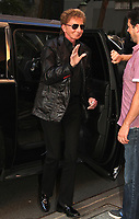 NEW YORK, NY - OCTOBER 6: Barry Manilow spotted arriving at 'The View' in New York, New York on October 6, 2017.  <br /> CAP/MPI/RMP<br /> &copy;RMP/MPI/Capital Pictures
