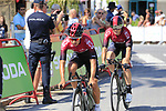 Team Ineos including Vasil Kiryienka (BLR) recon Stage 1 of La Vuelta 2019, a team time trial running 13.4km from Salinas de Torrevieja to Torrevieja, Spain. 24th August 2019.<br /> Picture: Eoin Clarke | Cyclefile<br /> <br /> All photos usage must carry mandatory copyright credit (© Cyclefile | Eoin Clarke)