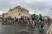 8th September 2017, Newmarket, England; OVO Energy Tour of Britain Cycling; Stage 6, Newmarket to Aldeburgh; Riders set off at the start from Newmarket