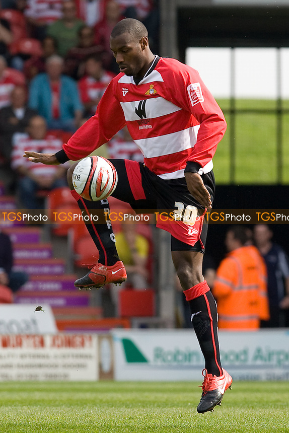 Shelton Martis (Doncaster R). - Doncaster Rovers vs Scunthorpe United - Coca Cola Championship Football at Keepmoat Stadium - 24/04/10 - MANDATORY CREDIT: Mark Hodsman/TGSPHOTO - Self billing applies where appropriate - 0845 094 6026 - contact@tgsphoto.co.uk - NO UNPAID USE..