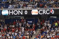 Harrison, NJ - Friday July 07, 2017: Fans during a 2017 CONCACAF Gold Cup Group A match between the men's national teams of Honduras (HON) vs Costa Rica (CRC) at Red Bull Arena.