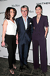 Pippa Cohen, Giorgio Guidotti and Giovanna Battaglia (right) arrives at the annual Whitney Art Party hosted by the Whitney Contemporaries, and sponsored by Max Mara, at Skylight at Moynihan Station on May 1, 2013.