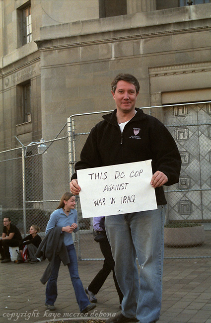 Peace Marches Against War in Iraq in Washington, DC, 2003