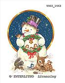 GIORDANO, CHRISTMAS SANTA, SNOWMAN, WEIHNACHTSMÄNNER, SCHNEEMÄNNER, PAPÁ NOEL, MUÑECOS DE NIEVE, paintings+++++,USGI1663,#X#