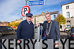 Launching the Free Parking Initiative. for Christmas shopping Pictured  Councillor Mike Kennelly (Mayor of Listowel Municipal Area), John Riordan (Traffic Warden, Listowel)