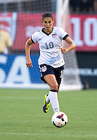 Carli Lloyd.  The USWNT defeated Brazil, 4-1, at an international friendly at the Florida Citrus Bowl in Orlando, FL.