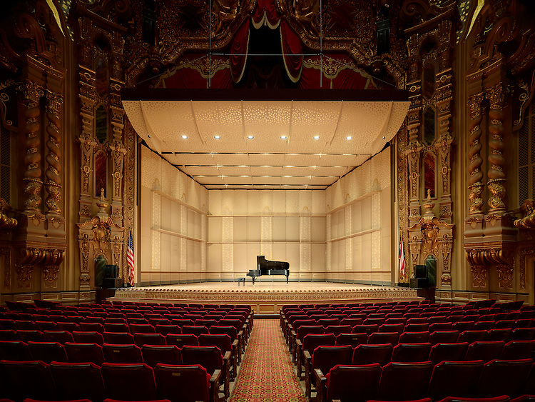 Ohio Theater Orchestral Band Shell | CAPA & Rogers Krajnak Architects The Ohio Theater Orchestral Band Shell | Rogers Krajnak