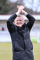 Chris Wilder (Manager) of Northampton Town after the Sky Bet League 2 match between Stevenage and Northampton Town at the Lamex Stadium, Stevenage, England on 19 March 2016. Photo by David Horn / PRiME Media Images.