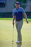 Seamus Power (IRL) makes his par putt on 12 during round 1 of the Honda Classic, PGA National, Palm Beach Gardens, West Palm Beach, Florida, USA. 2/23/2017.<br /> Picture: Golffile | Ken Murray<br /> <br /> <br /> All photo usage must carry mandatory copyright credit (&copy; Golffile | Ken Murray)