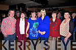 At the Ballinskelligs Benefit Fire Dance for Noreen Doyle who's home was destroyed by fire in January at the Ring of Kerry Hotel on Saturday last were l-r; Mark Galvin, Kitty Hynes, Noreen Doyle, Mary Doyle, Mary Walsh & Janet Murphy.