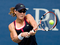 Samantha Stosur (AUS) (15) against Ai Sugiyama (JPN). Stosur beat Sugiyama 6-4 4-6 6-4..International Tennis - US Open - Day 1 Mon 31 Aug 2009 - USTA Billie Jean King National Tennis Center - Flushing - New York - USA ..Frey,  Advantage Media Network, Barry House, 20-22 Worple Road, London, SW19 4DH