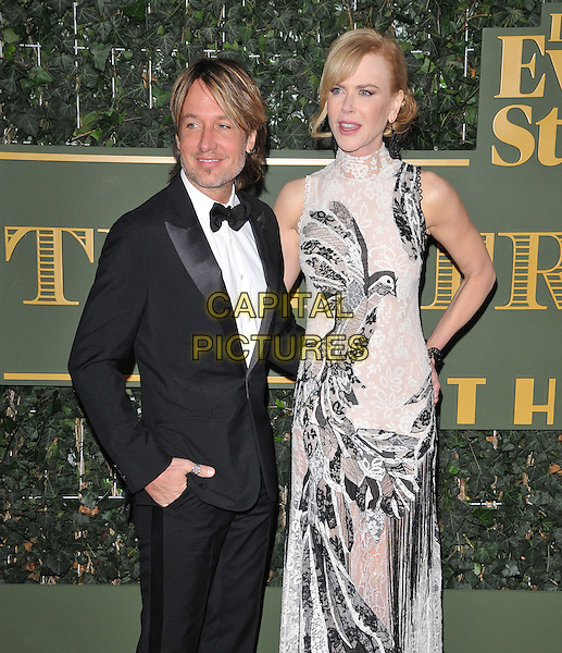 Keith Urban &amp; Nicole Kidman attend the London Evening Standard Theatre Awards 2015, The Old Vic, The Cut, London, England, UK, on Sunday 22 November 2015.<br /> CAP/CAN<br /> &copy;CAN/Capital Pictures