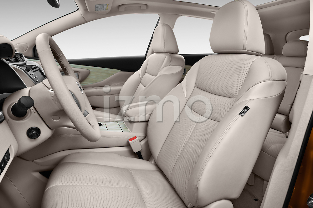 Front seat view of a 2015 Nissan Murano Platinum 5 Door SUV Front Seat car photos