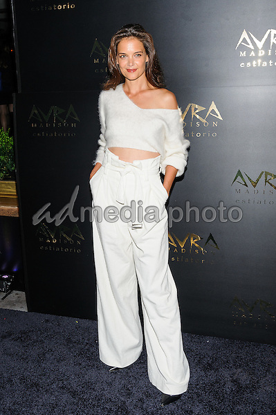 08 September 2016 - New York, New York- Katie Holmes. Avra Madison Grand Opening Party on Thursday, September 8, 2016. Photo Credit: Mario Santoro/AdMedia
