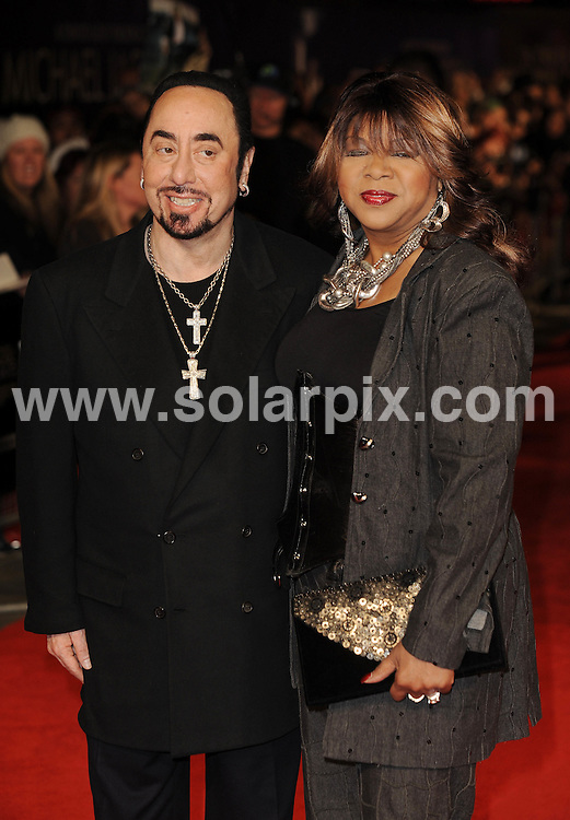 "**ALL ROUND PICTURES FROM SOLARPIX.COM**                                             **WORLDWIDE SYNDICATION RIGHTS**                                                                                  Caption: The World Premiere of 'Michael Jackson film ""The Life Of An Icon"" at Empire Leicester Square in London                                                    .This pic: David Gest and Denise Williams                                                                                             JOB REF: 14144       LNJ       DATE: 2.11.2011                                                           **MUST CREDIT SOLARPIX.COM OR DOUBLE FEE WILL BE CHARGED**                                                                      **MUST AGREE FEE BEFORE ONLINE USAGE**                               **CALL US ON: +34 952 811 768 or LOW RATE FROM UK 0844 617 7637**"