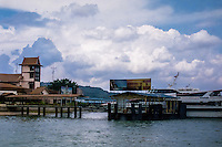 Indonesia, Riau, Batam. The port of Sekupang, the most common port of arrival if you go by boat from Singapore.