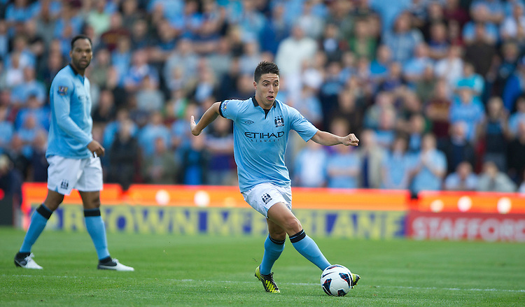 Manchester City's Samir Nasri ..Football - Barclays Premiership - Stoke City v Manchester City - Saturday 15th September 2012 - Britannia Stadium - Stoke..