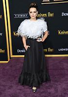 "14 November 2019 - Westwood, California - Katherine Langford. ""Knives Out"" Los Angeles Premiere held at Regency Village Theater. Photo Credit: Birdie Thompson/AdMedia"