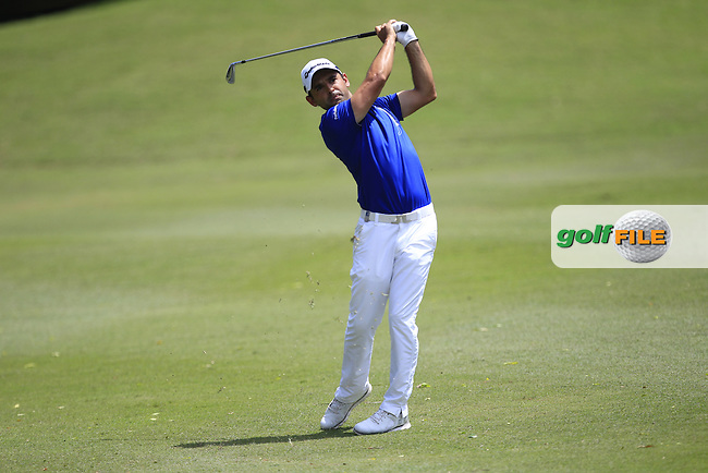 Fabrizio Zanotti (PAR) on the 18th fairway during Round 4 of the Maybank Championship on Sunday 12th February 2017.<br /> Picture:  Thos Caffrey / Golffile<br /> <br /> All photo usage must carry mandatory copyright credit     (&copy; Golffile | Thos Caffrey)