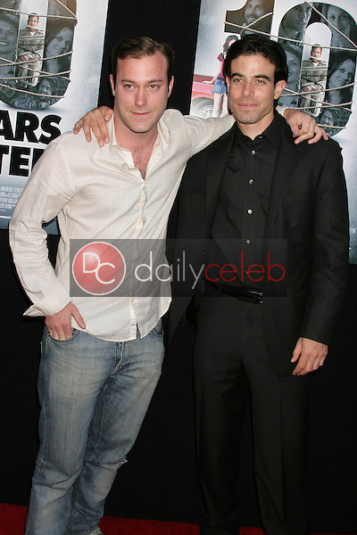 James DeBello and Aaron Michael Metchik<br />at the Los Angeles Sneak Peek Screening of 'Ten Years Later'. Majestic Crest Theatre, Los Angeles, CA. 07-16-09<br />Dave Edwards/DailyCeleb.com 818-249-4998