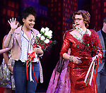 """Lilli Cooper and Santino Fontana during the Broadway Opening Night of """"Tootsie"""" at The Marquis Theatre on April 22, 2019  in New York City."""