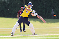 Ardleigh Green CC (yellow) vs Brentwood CC - Semi-Final - Essex Cricket League Dukes T20 Finals Day at Billericay Cricket Club - 28/07/13 - MANDATORY CREDIT: Gavin Ellis/TGSPHOTO - Self billing applies where appropriate - 0845 094 6026 - contact@tgsphoto.co.uk - NO UNPAID USE