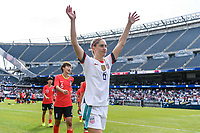 CHICAGO, IL - OCTOBER 06: Morgan Brian #6 of the United States during a game between the USA and Korea Republic at Soldier Field, on October 06, 2019 in Chicago, IL.