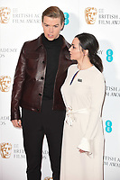 Will Poulter and Hayley Squires<br /> at the announcement of the nominations for the BAFTA Film Awards 2019 London<br /> <br /> ©Ash Knotek  D3469  09/01/2019