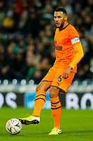 3rd March 2020; The Hawthorns, West Bromwich, West Midlands, England; English FA Cup Football, West Bromwich Albion versus Newcastle United; Jamaal Lascelles of Newcastle United