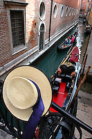 Gondola's of Venice, March 2006.