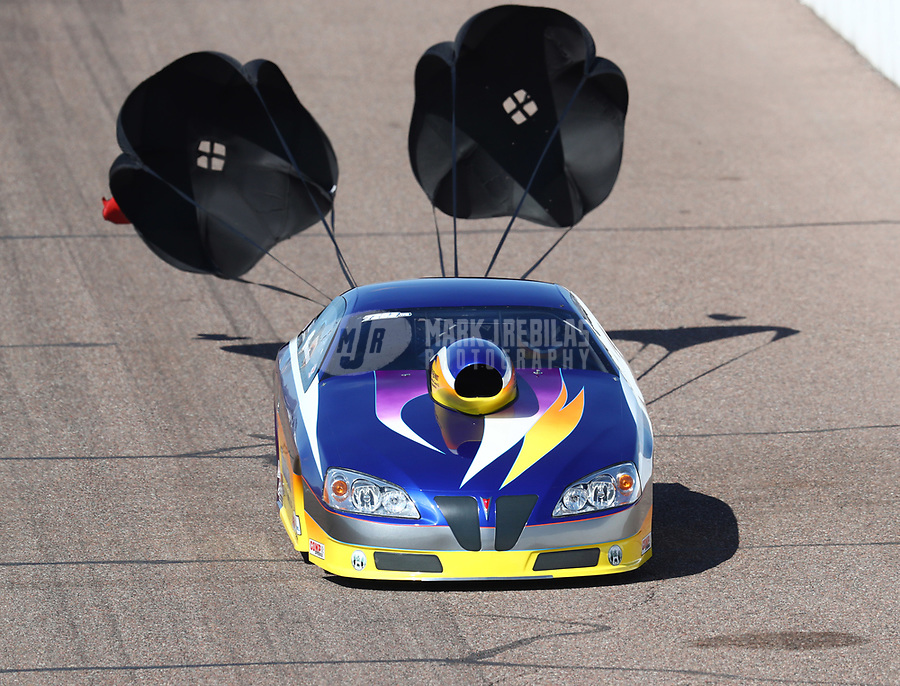Feb 23, 2019; Chandler, AZ, USA; NHRA top sportsman driver Wayne Newman during qualifying for the Arizona Nationals at Wild Horse Pass Motorsports Park. Mandatory Credit: Mark J. Rebilas-USA TODAY Sports