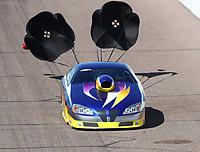 Feb 23, 2019; Chandler, AZ, USA; NHRA top sportsman driver Wayne Newman during qualifying for the Arizona Nationals at Wild Horse Pass Motorsports Park. Mandatory Credit: Mark J. Rebilas-USA TODAY Sports