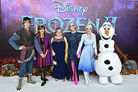 "Jamie New<br /> arriving for the ""Frozen 2"" premiere at the BFI South Bank, London.<br /> <br /> ©Ash Knotek  D3537 17/11/2019"